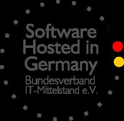 Unsere Software wird ausschließlich in Deutschland gehostet.