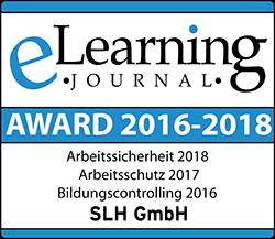 eLearning Awards in Arbeitssicherheit, Arbeitsschutz und Bildungscontrolling dank der Unterweisungssoftware UWEB2000®!