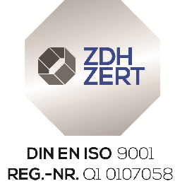 Qualitätsmanagment nach DIN EN ISO 9001 auch bei uns!