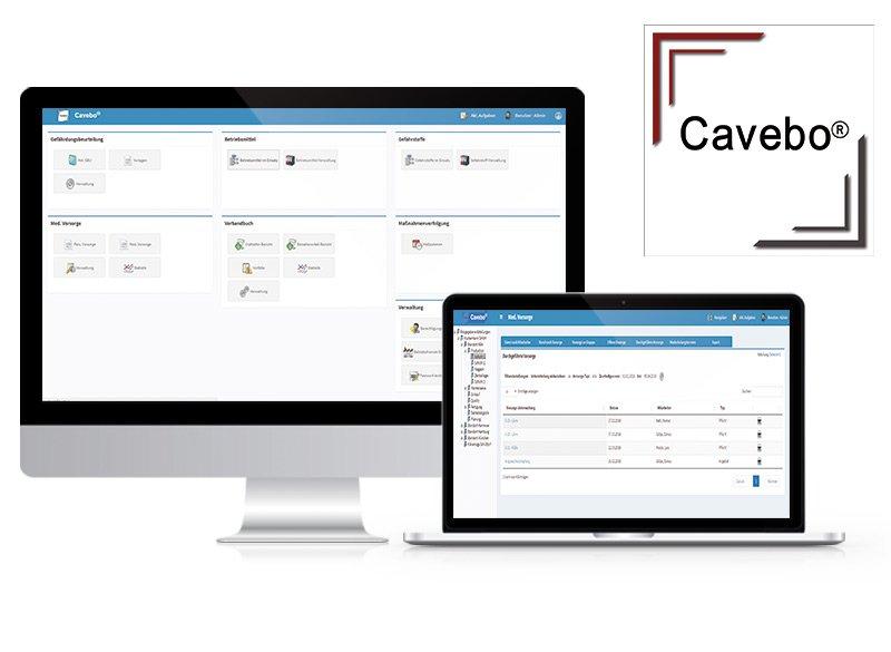 Gefährdungsbeurteilung, Arbeitssicherheit und betriebliche Prävention mit Cavebo®