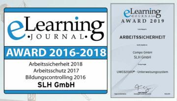 Erfolg in Serie! – 4. eLearningAWARD für UWEB2000®