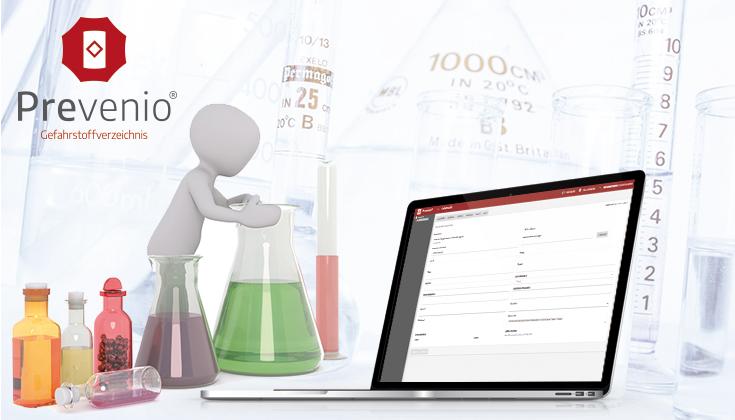 Gefahrstoffverzeichnis - Software zur verwaltung von Gefahrstoffen im Unternehmen.