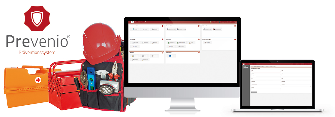 Software für Arbeitssicherheit und Gesundheitsschutz - Prevenio®
